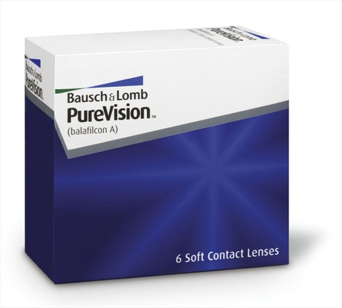 Bausch and Lomb BAUSCH & LOMB -PUREVISION- ΜΥΩΠΙΑΣ & ΥΠΕΡΜΕΤΡΩΠΙΑΣ - ΜΗΝΙΑΙΟΙ  6ΦΑΚΟΙ