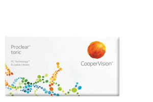 Cooper Vision COOPERVISION - PROCLEAR TORIC - ΑΣΤΙΓΜΑΤΙΣΜΟΥ - ΜΗΝΙΑΙΟΙ - 3 ΦΑΚΟΙ