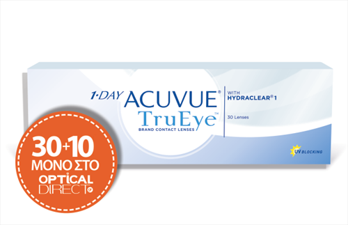 Johnson & Johnson ACUVUE 1 DAY TruEye- 30+10 ΦΑΚΟΙ