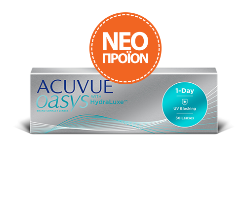 Johnson & Johnson J&J - ACUVUE OASYS 1-Day -ΜΥΩΠΙΑΣ & ΥΠΕΡΜΕΤΡΩΠΙΑΣ - 30  ΦΑΚΟΙ
