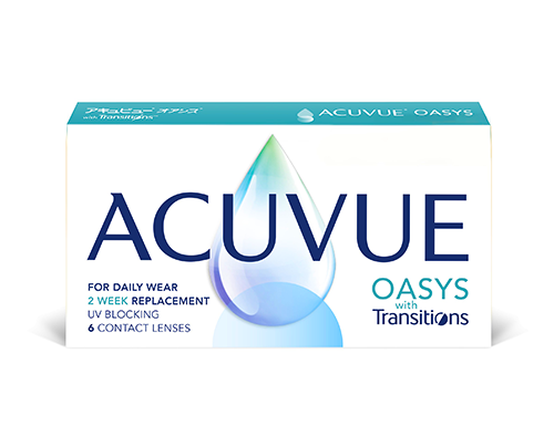 Johnson & Johnson J&J -  ACUVUE OASYS with Transitions™ - ΜΥΩΠΙΑΣ & ΥΠΕΡΜΕΤΡΩΠΙΑΣ - 15ΝΘΗΜΕΡΟΣ - 6 ΦΑΚΟΙ