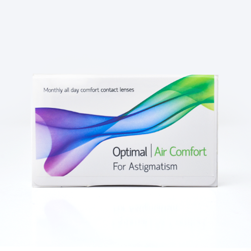 Optimal Vision OPTIMAL VISION Optimal Air Comfort XR For Astigmatism - ΑΣΤΙΓΜΑΤΙΣΜΟΥ - ΜΗΝΙΑΙΟΙ - 3 φακοί